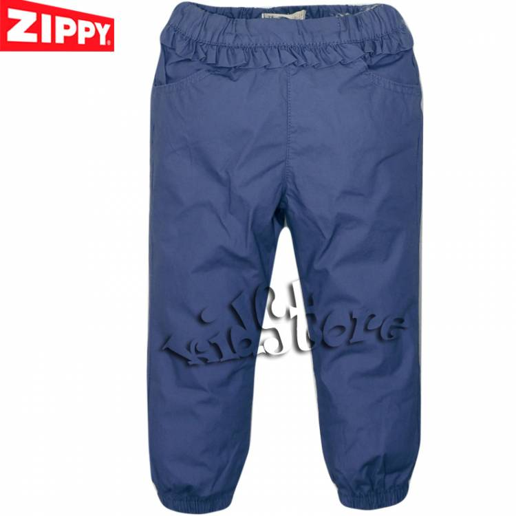 f8ac0f46748 ZIPPY Παντελόνι μακρύ για κορίτσια Καμπαρντινέ Μπλε