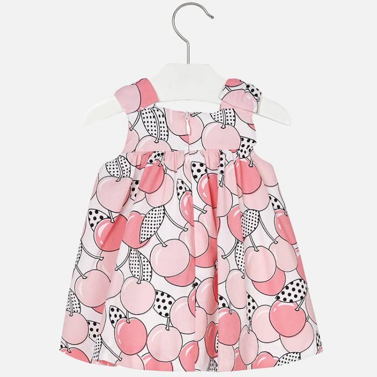 MAYORAL Φόρεμα σταμπωτό της Μαγιοράλ με τύπωμα κεράσια 8c580b26fd7