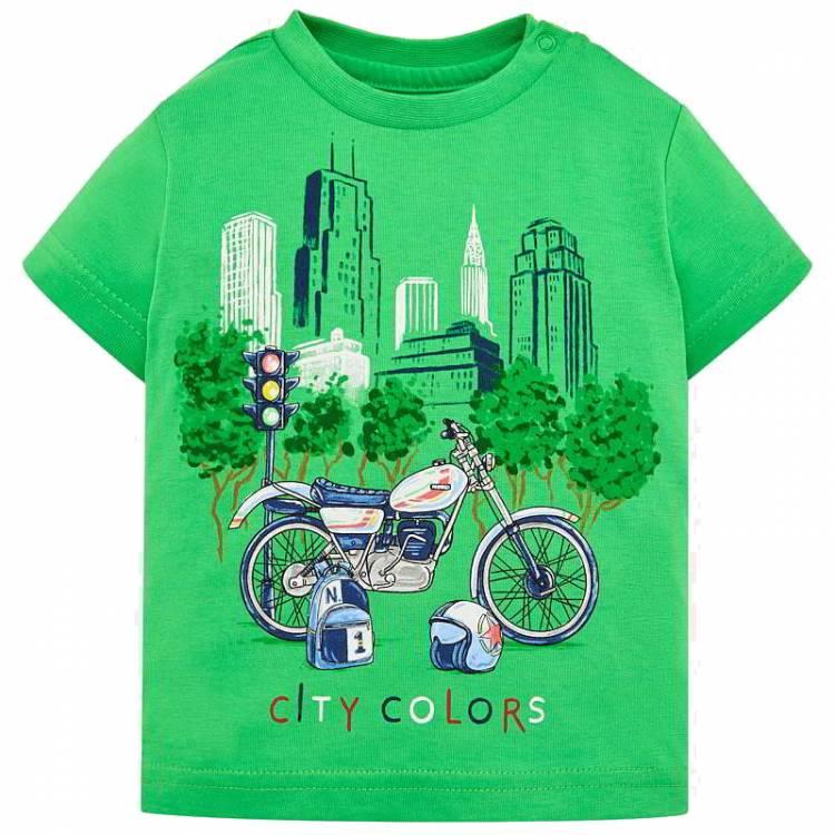 510b9915aaaf MAYORAL Μπλούζα για μωρό αγόρι με τύπωμα City της Μαγιοράλ