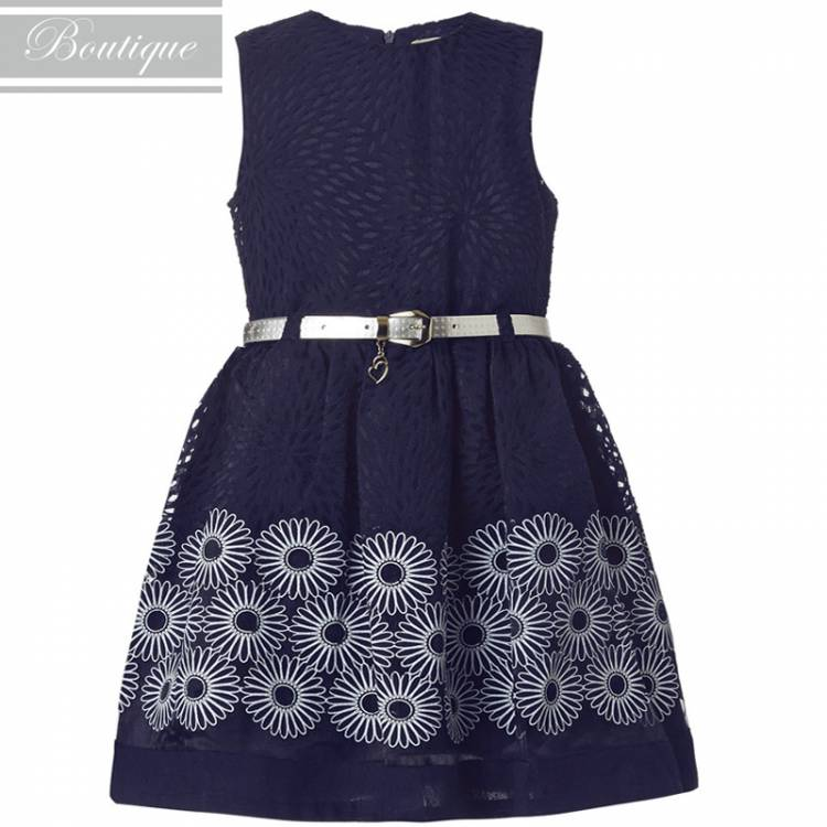 c0512d0241d4 BOUTIQUE Φόρεμα για κορίτσι ύφασμα ντεβορέ της Μπουτίκ