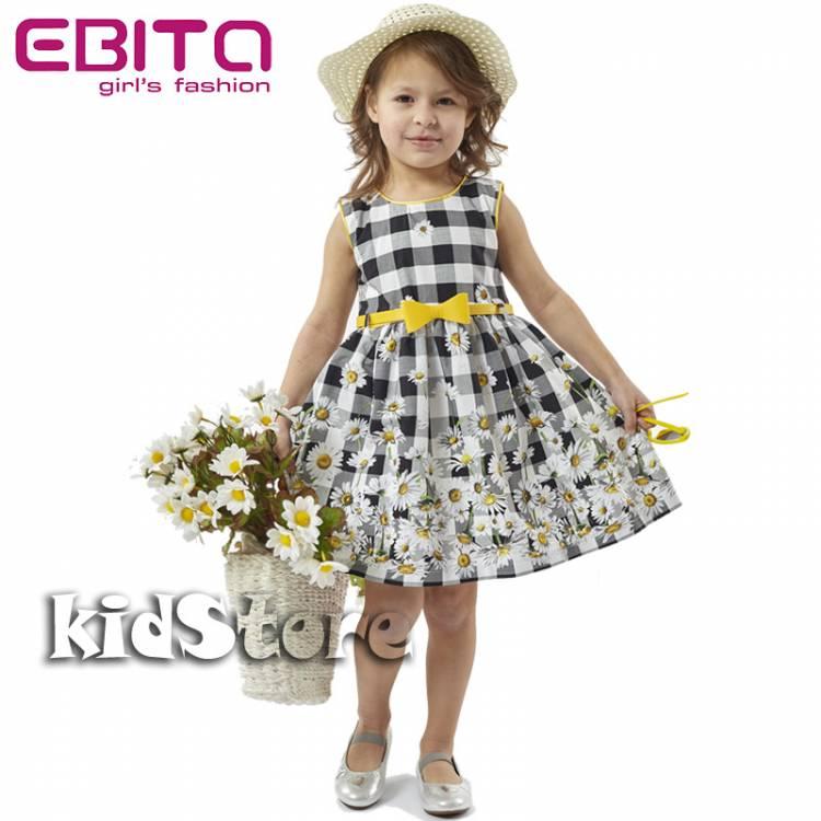 e0da58a3d80 EBITA Φόρεμα με ζώνη και καπέλο για κορίτσι της Εβίτα