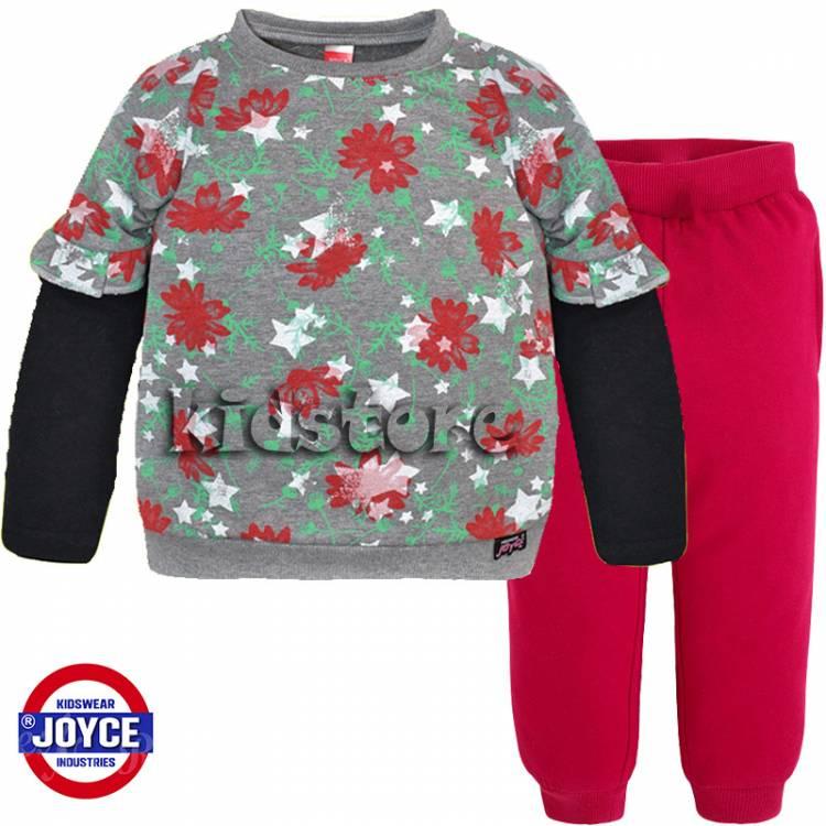 fba3e445dea JOYCE Φόρμα παιδική για κορίτσια Roses της Τζόις