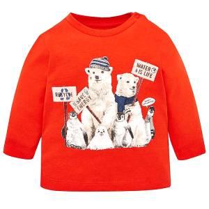 MAYORAL Μπλούζα για Μωρό Αγόρι Energy της Μαγιοράλ 034f0267433