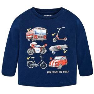 MAYORAL Μπλούζα για Μωρό Αγόρι Bus της Μαγιοράλ eea8d08ce84