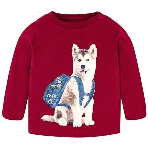 MAYORAL Μπλούζα για Μωρό Αγόρι Χάσκι της Μαγιοράλ 2d4fec23ef9