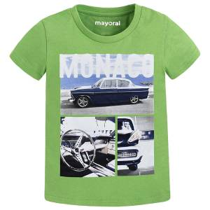 MAYORAL Μπλούζα για αγόρια με τύπωμα Monaco της Μαγιοράλ 9fcf3a7661f