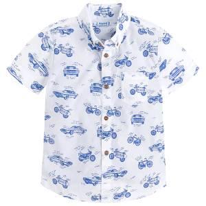 MAYORAL Πουκάμισο μπλούζα κοντομάνικο της Μαγιοράλ b99cee55cf3