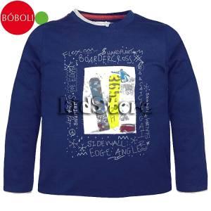 BOBOLI Μπλούζα Για Αγόρια Μακρυμάνικη Cross Μπόμπολι baa4651d59b