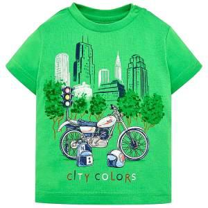 MAYORAL Μπλούζα για μωρό αγόρι με τύπωμα City της Μαγιοράλ fdb8c4011d6
