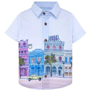 MAYORAL Πουκάμισο κοντομάνικο για αγόρι Κούβα της Μαγιοράλ 6d5e03d4f2c