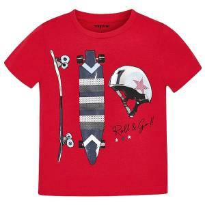 MAYORAL Μπλούζα για αγόρι με τύπωμα skate της Μαγιοράλ d249d635924