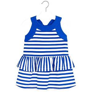 441d900fc36 MAYORAL Φόρεμα για κορίτσι βολάν ριγέ της Μαγιοράλ