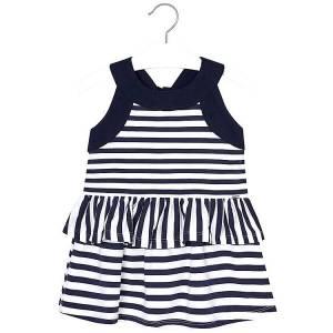 MAYORAL Φόρεμα για κορίτσι βολάν ριγέ της Μαγιοράλ a13525ba677