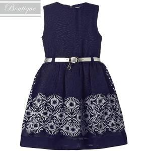 07f75c4073d BOUTIQUE Φόρεμα για κορίτσι ύφασμα ντεβορέ της Μπουτίκ