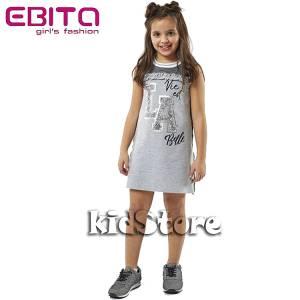 7baa875b6f38 EBITA Φόρεμα για κορίτσι με τύπωμα LA της Εβίτα