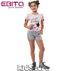 8a79ba2b6f EBITA Σετ μπλούζα με σορτς για κορίτσι Sweet της Εβίτα