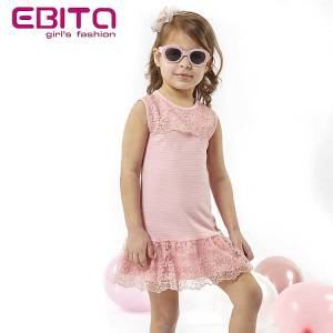 ef37753b0d15 EBITA Φόρεμα συνδυασμένο για κορίτσι της Εβίτα