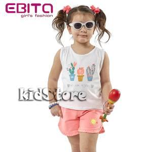 dddae0fd1fee EBITA Σετ μπλούζα με σορτς για κορίτσι Κάκτος της Εβίτα