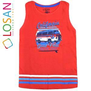a96702cd3037 LOSAN Μπλούζα αμάνικη για αγόρι California της Λοσάν
