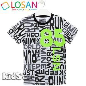 b7d12c8b1aa8 LOSAN Μπλούζα κοντομάνικη για αγόρι Keep της Λοσάν