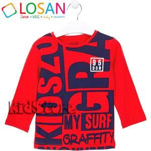 LOSAN Μπλούζα μακρυμάνικη για αγόρι Graffity της Λοσάν 92d3d590303