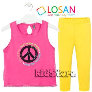 LOSAN Σετ μπλούζα με κολάν για κορίτσι Peace της Λοσάν 00c05982820