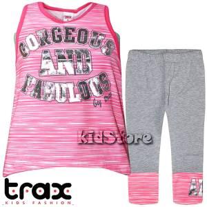2e7f6610d68f TRAX Σετ μπλούζα με κολάν για κορίτσι Gorgeous της Τραξ
