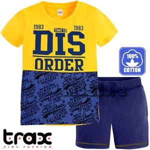 2b26924d0d5 TRAX Σετ μπλούζα με βερμούδα για αγόρι Order της Τραξ