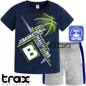 510be3f1a7c TRAX Σετ μπλούζα με βερμούδα για αγόρι Μπάσκετ της Τραξ