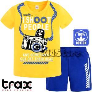 e74e8778c83 TRAX Σετ μπλούζα με βερμούδα για αγόρι photographer της Τραξ