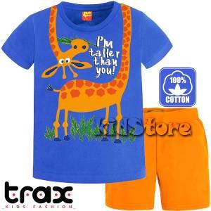 TRAX Σετ μπλούζα με βερμούδα για αγόρι Zoo της Τραξ 54243041949