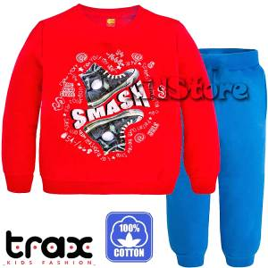 7fa478c6683 TRAX Φόρμα λεπτή για αγόρι με τύπωμα Shoes της Τραξ