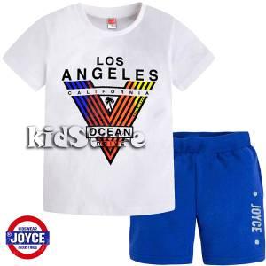 d021ec1978e JOYCE Σετ μπλούζα με βερμούδα για αγόρι Ocean της Τζόις
