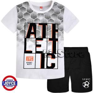 eec18d1b2c0 JOYCE Σετ μπλούζα με βερμούδα για αγόρι Athletic της Τζόις