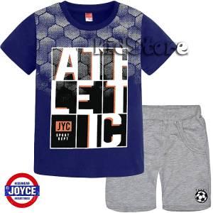 5b678a088a74 JOYCE Σετ μπλούζα με βερμούδα για αγόρι Athletic της Τζόις