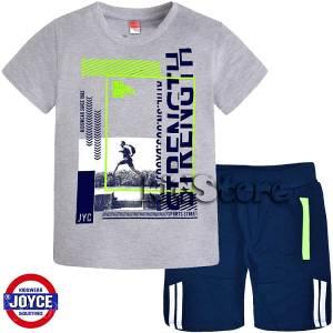 912d65d57c6 JOYCE Σετ μπλούζα με βερμούδα για αγόρι Jogging της Τζόις