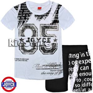 80a522aa247 JOYCE Σετ μπλούζα με βερμούδα για αγόρι Different της Τζόις