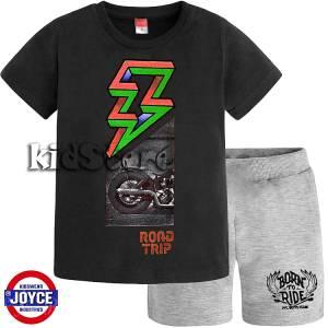ec696531efa4 JOYCE Σετ μπλούζα με βερμούδα για αγόρι Motor της Τζόις
