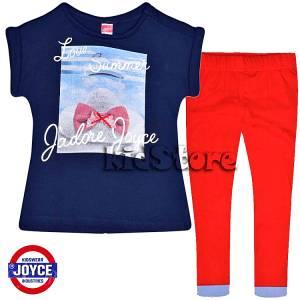 ef0826a9e5e JOYCE Σετ μπλούζα με κολάν για κορίτσι Jadore της Τζόις