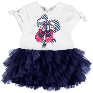 09749ef010e3 MAYORAL Φόρεμα για μωρό κορίτσι με τούλι της Μαγιοράλ