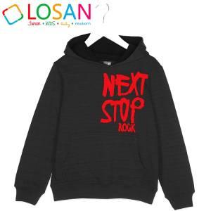 LOSAN Μπλούζα Φούτερ για Αγόρι Stop της Λοσάν 8f525b27433