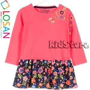 LOSAN Φόρεμα για κορίτσι με τύπωμα φλοράλ της Λοσάν 4b6e3b89242