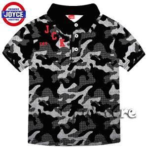 JOYCE Μπλούζα για αγόρι πόλο με τύπωμα Καμουφλάζ της Τζόις dd3dcfc2951