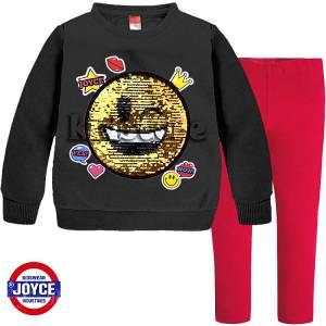 JOYCE Σετ Φούτερ με κολάν για κορίτσια Smile της Τζόις 9f1752cfb0f