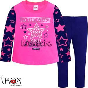 TRAX Σετ με κολάν για κορίτσια Stars της Τραξ e981b32c82f